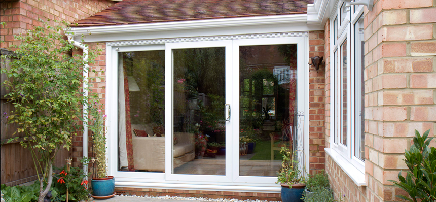 Patio doors which are sometimes referred to as sliding doors are ideal in  situations where you wish to have a large uninterrupted view of the outside  from ... - Manufacturers Of Windows, Doors And Conservatories €� Frametrade